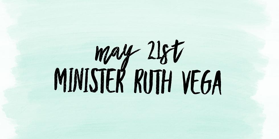 Minister Ruth Vega