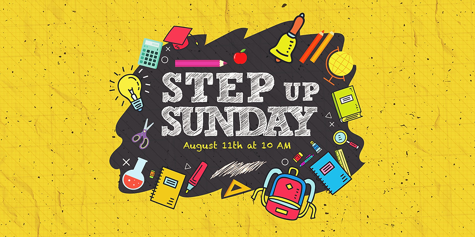 Step Up Sunday