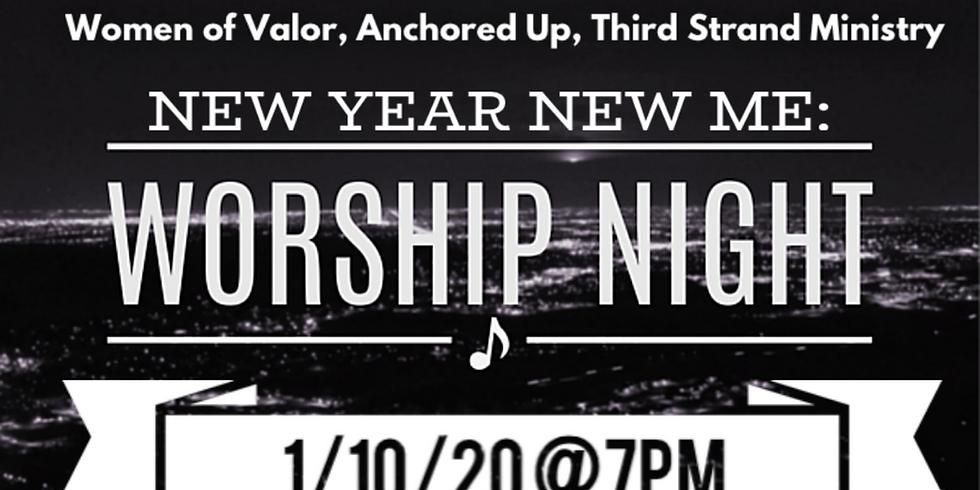 New Year, New Me Worship Night