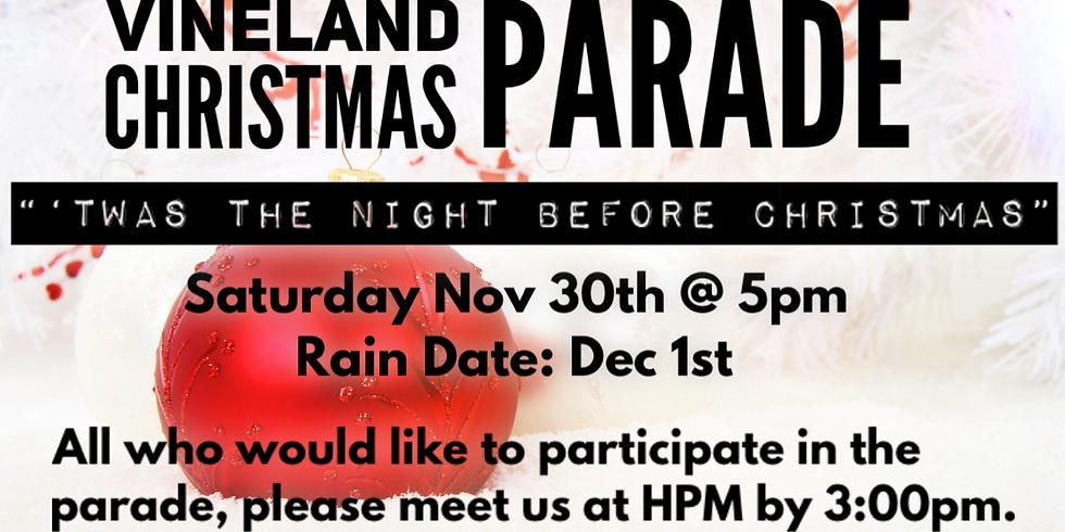 Vineland Christmas Parade