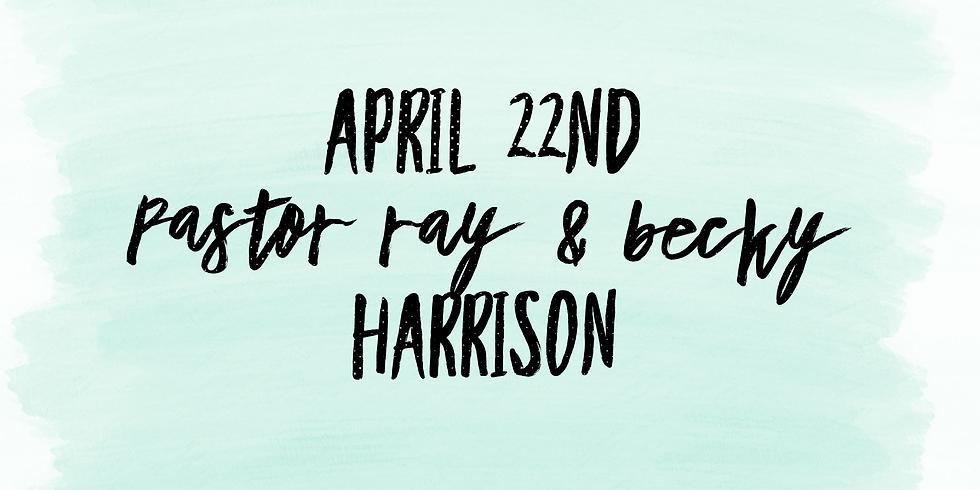 Prayer: The Harrisons