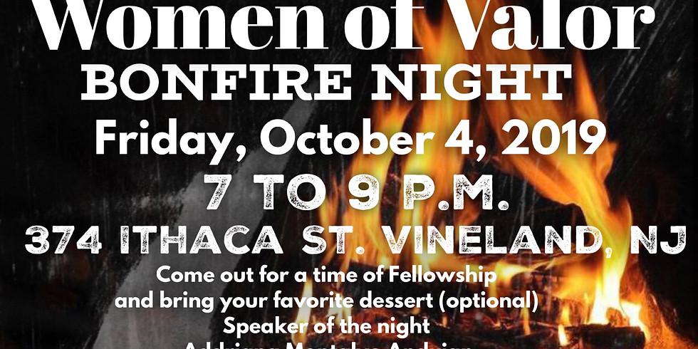 Women of Valor: Bonfire Night
