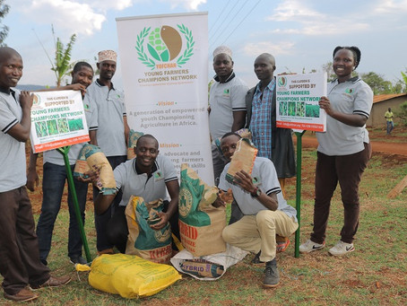 Ugandan Youth Choose Agriculture