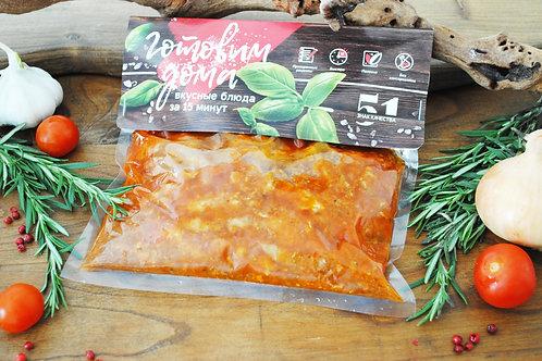 Поджарка из свинины, 500 гр.