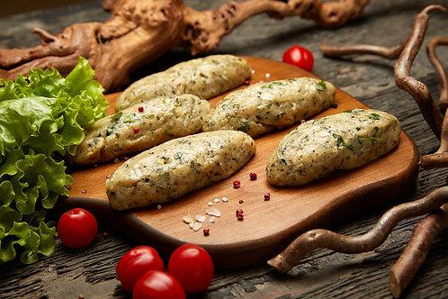 Люля-кебаб из курицы с базиликом и специями (5 шт.), 515 гр.