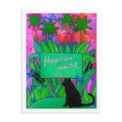 Limited Edition Happiness Habitat Prints