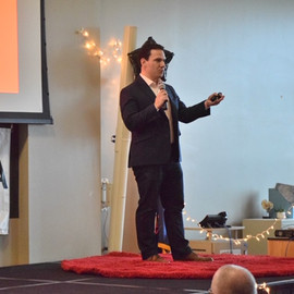 Giving ted talk.JPG
