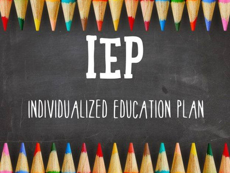 Advocating for Your Child in School in an IEP (Individualized Education Program) -- Part 1