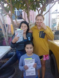 Receiving Food Vouchers
