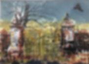 Slack cemetery, waterless litho, monoprint 25x35cms.jpg