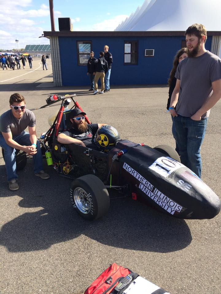 NIU Formula SAE Michigan 2015