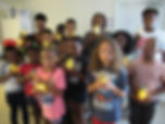 children with 4th July craft.jpg