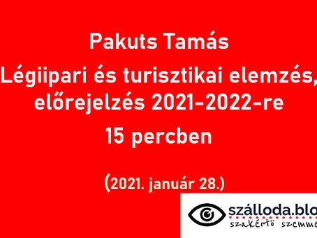 2020 után mit hoz 2021 a légiközlekedésben és a turizmusban?