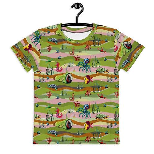 T-shirt Havsäventyr Grön