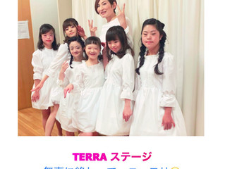 TERRA出演 ~無事終了~