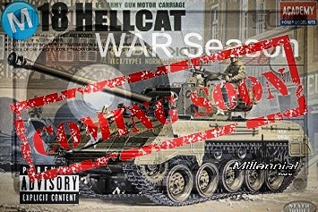 Coming this March 18 the all brand new beat tape. M18 Hellcat War Season. Be on the lookout countdow