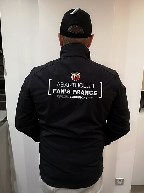VESTE CLUB ABARTH HOMME