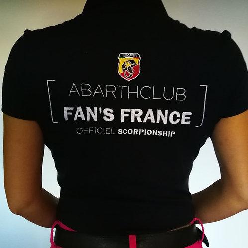 POLO CLUB FEMME BLEU MARINE