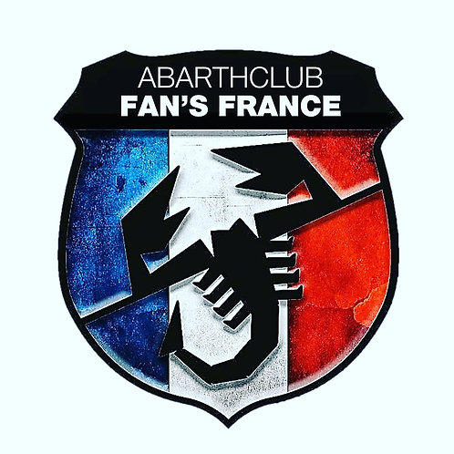 Sticker Club bleu blanc rouge