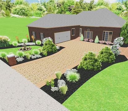 3D Grass Garden
