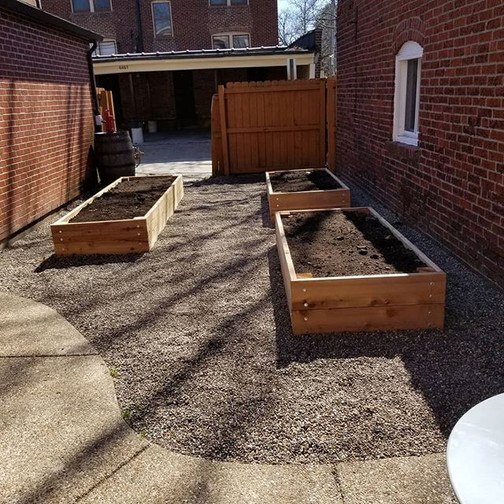 Raised garden beds for easy planting.jpg