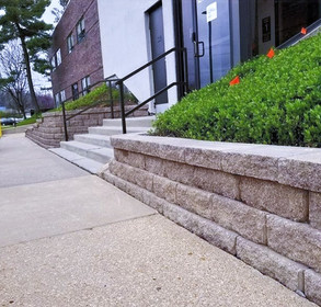 Corporate Retaining Wall