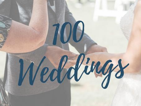 10 things I've learnt in 100 Ceremonies