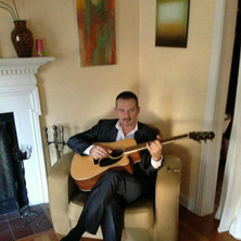 Acoustic in a suit.
