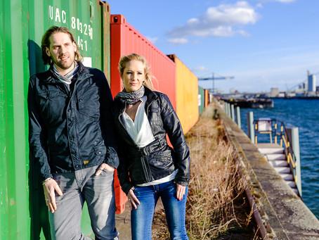 Zwischen Gleisen und Containern