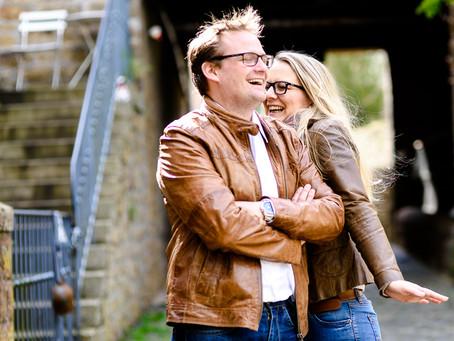 Janine und Benjamin