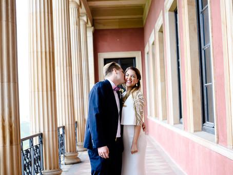 Marcela und Alex - Hochzeit im Restaurant Buschmühle in Weyher