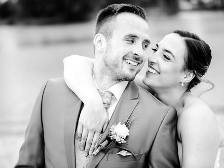 Saskia und Mirko feiern Hochzeit im Strandhotel Darstein in Altrip