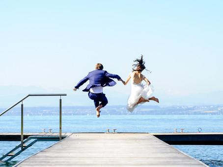 Vanessa und Matthias feiern Hochzeit im Heinzler am See Immenstaad am Bodensee