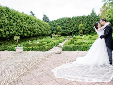Haruka und Sebastian feiern Hochzeit in der Haldmühle Bissersheim