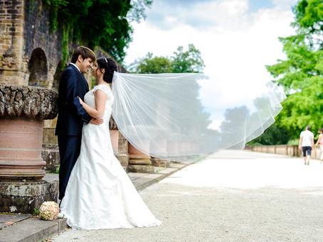 Nicole und Erkan feiern Hochzeit im Palais Prinz Carl in Heidelberg