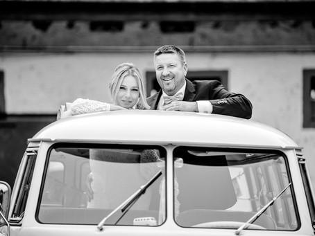 Christine und Thomas feiern Hochzeit auf dem Reiterhof Petersau in Frankenthal