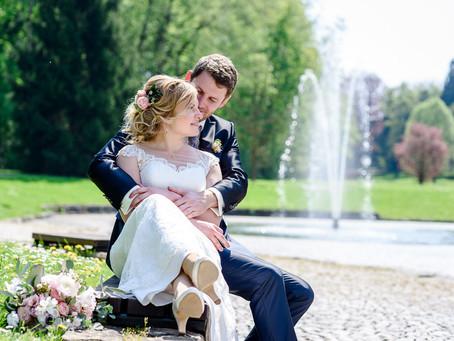 Judith und Nils feiern Hochzeit im Landgut Schloss Michelfeld im  Angelbachtal