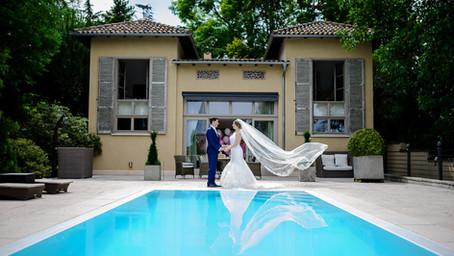 Jessica und Stefan feiern Hochzeit bei den Gebrüder Meurer Großkarlbach