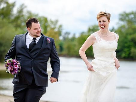 Wiebke und Markus feiern Hochzeit im Hotel Darstein in Altrip