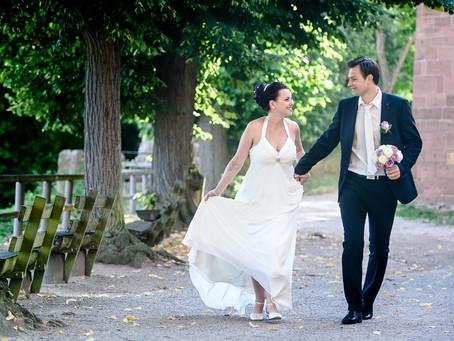 Elisabeth & Sergej - Hochzeit auf der Klosterruine Limburg in Bad Dürkheim