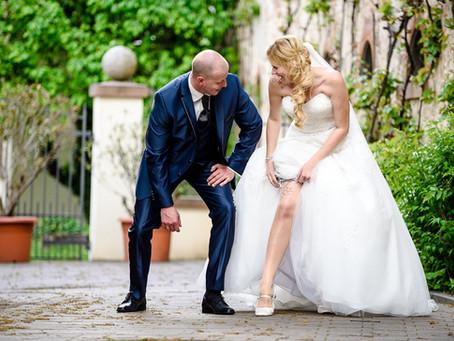 Natalie und Holger feiern Hochzeit beim Weingut Gebrüder Meurer in Großkarlbach