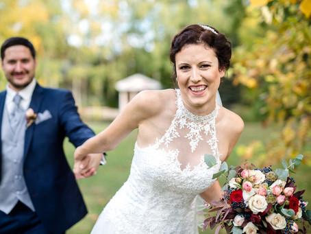 Julia und Stefan feiern Hochzeit auf dem Landgut Schloß Michelfeld
