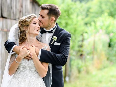 Alice und Eric feiern Hochzeit im Palais Schloss Wachenheim
