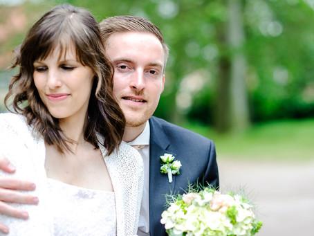 Tamara und Boris feiern ihre standesamtliche Hochzeit in Speyer