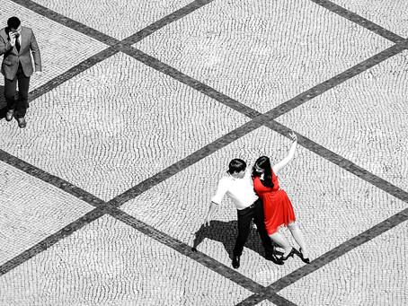 Nicole und Erkan in Lissabon
