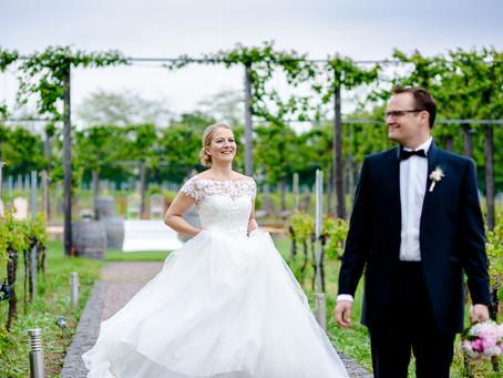 Janine und Benjamin feiern Hochzeit auf dem Weingut Fitz-Ritter in Bad Dürkheim