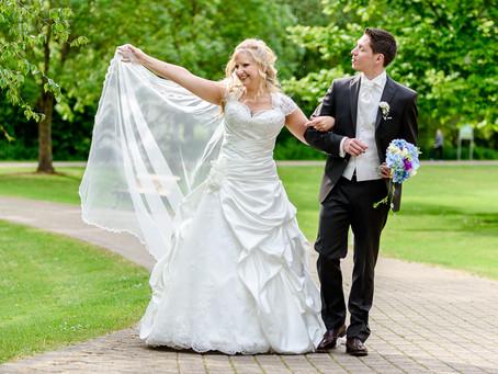 Claudia und Marc - Hochzeit in der Orangerie Domaine Thermal in Mondorf (Luxemburg)