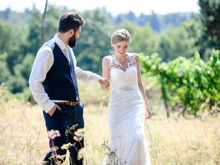 Xenia und Johannes feiern Hochzeit bei Keller´s Keller in Ruppertberg
