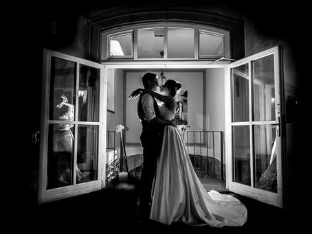 Stefanie und Frank feiern Hochzeit im Halbersbacher Hotel Annaberg
