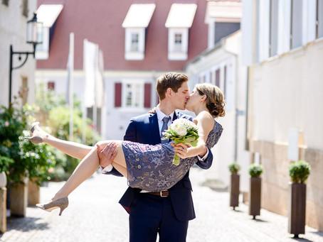Kathrin und Henrik heiraten im Alten Rathaus in Deidesheim